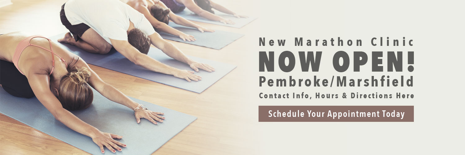 New Marathon clinic now open in Pembroke/Marshfield. Schedule your appointment today.