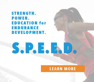Strength. Power. Education for Endurance Development. Learn more.